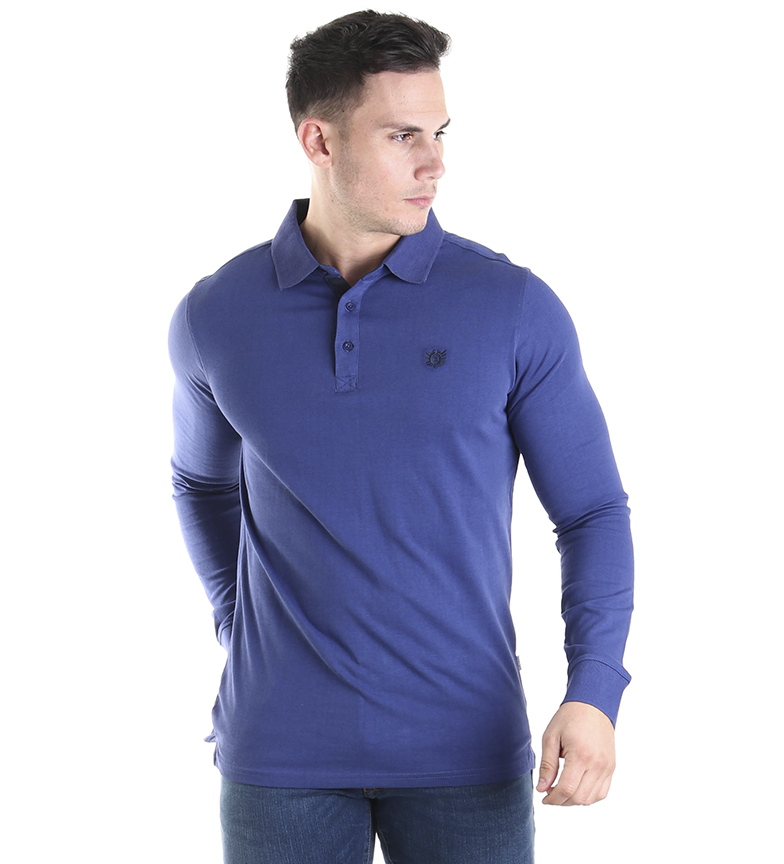 Comprar Bendorff Blue embroidered polo shirt