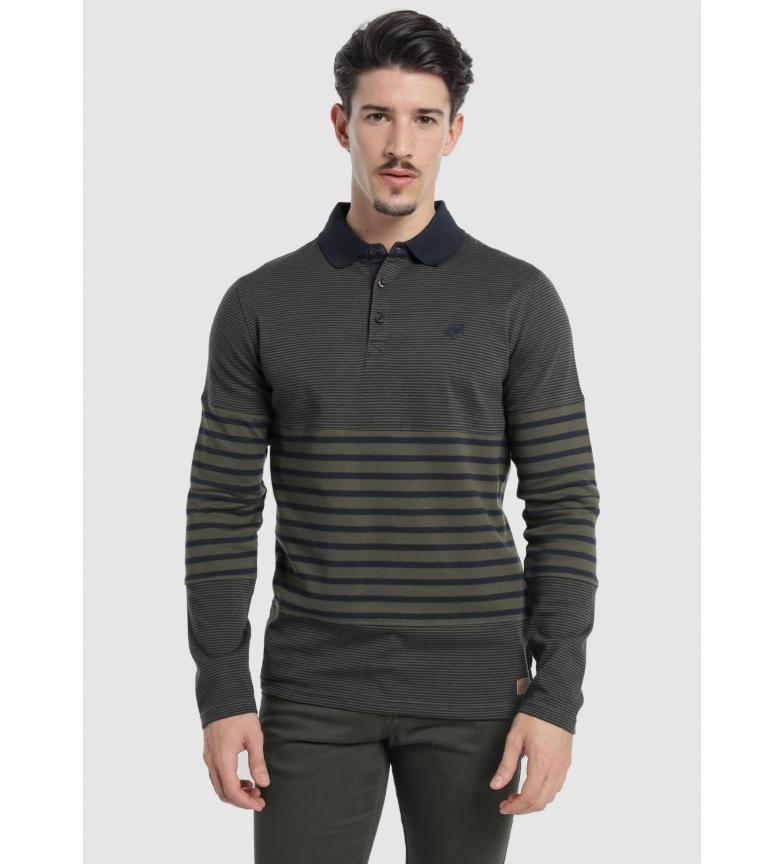 Comprar Bendorff Marine striped polo shirt, green