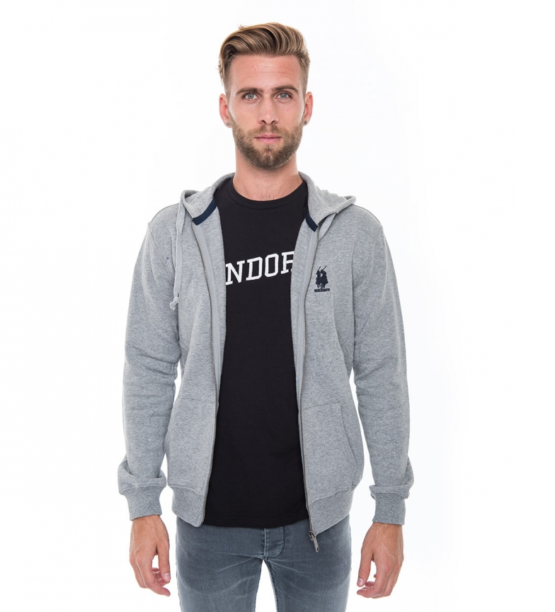 Comprar Bendorff Fidel gray hoodie