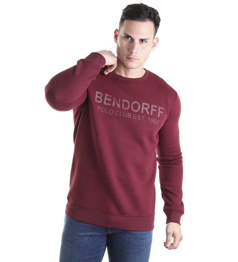 Comprar Bendorff Sweatshirt Haute Densité bordeaux