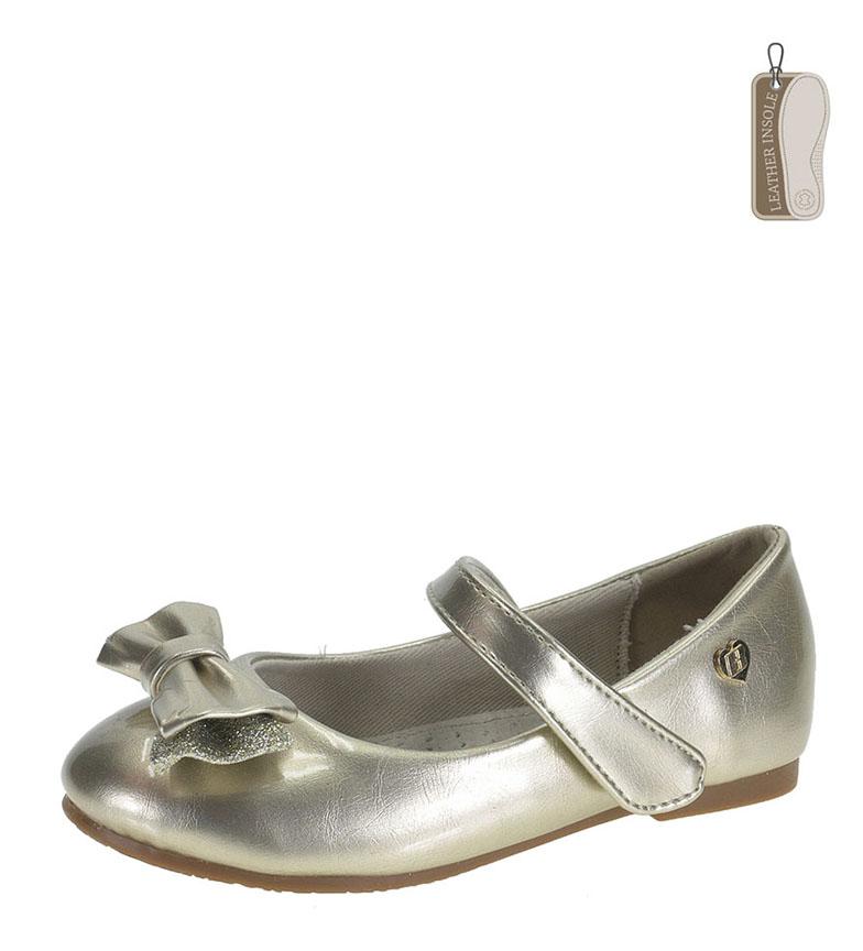 Comprar Beppi Bailarinas oro metalizado