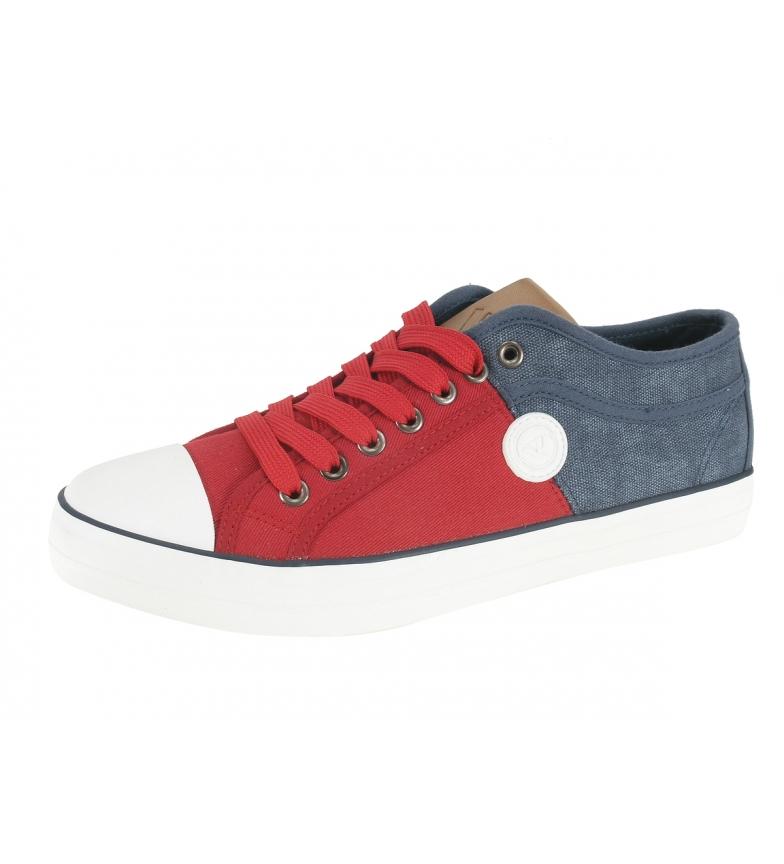 Comprar Beppi Sapatos de brim, vermelho