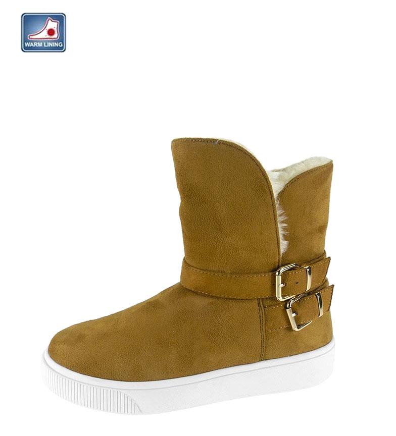 Comprar Beppi Dark camel effect boots