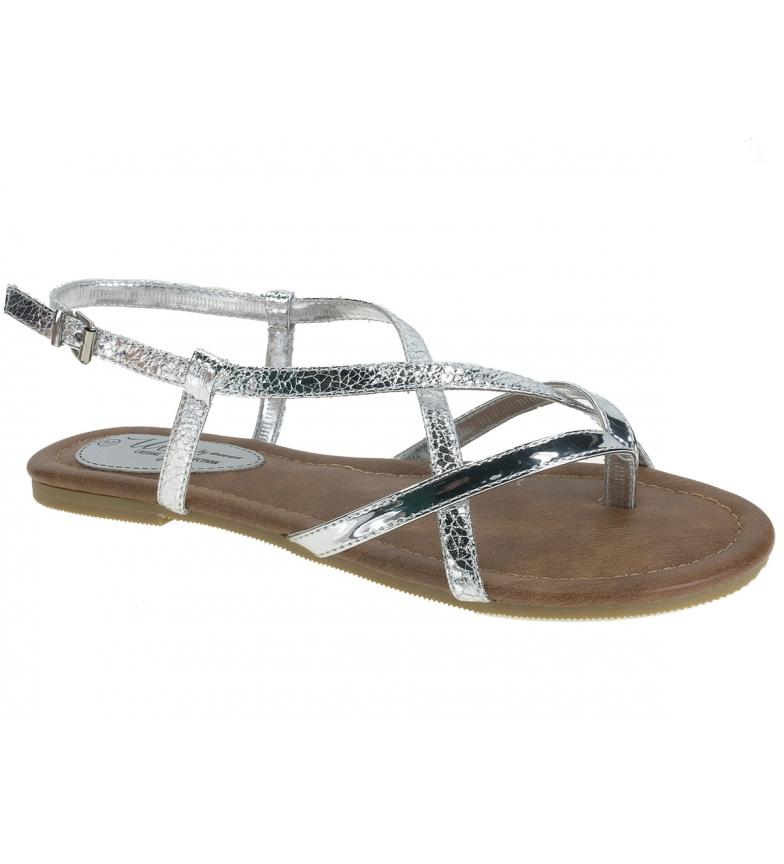 Comprar Beppi Silver metallic sandals