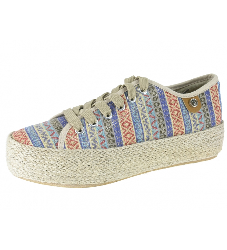Comprar Beppi Zapatillas Etnia azul -Altura plataforma: 3,5cm-