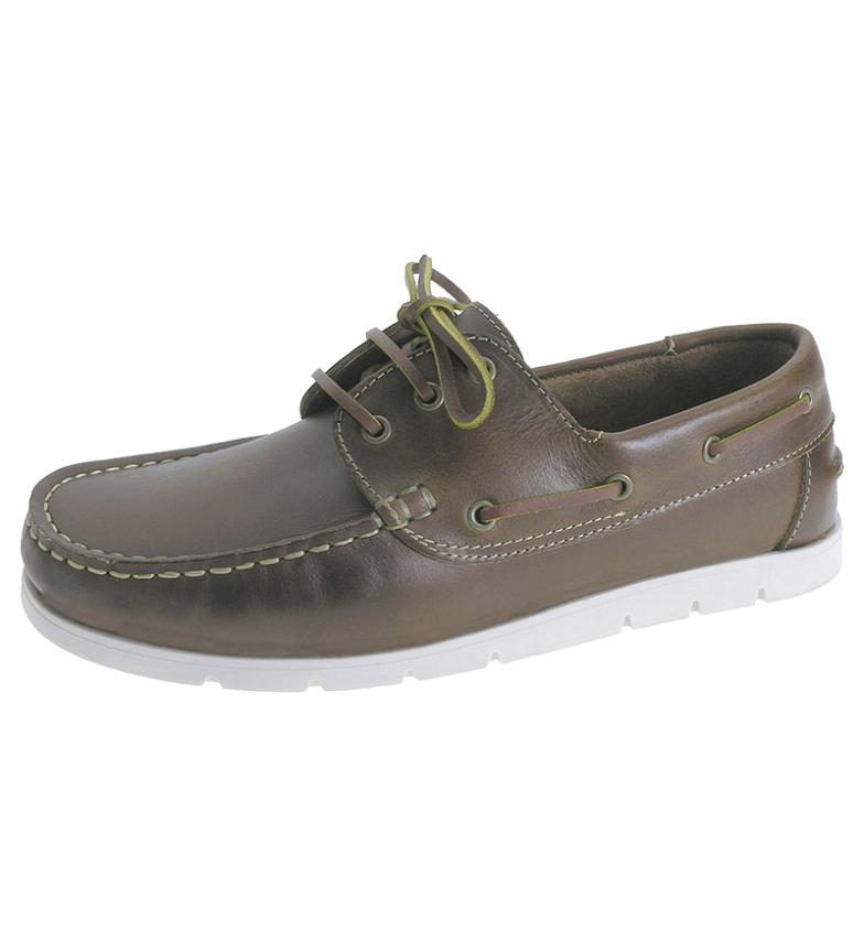 Comprar Beppi Chaussures de bateau en cuir 2173061 marron