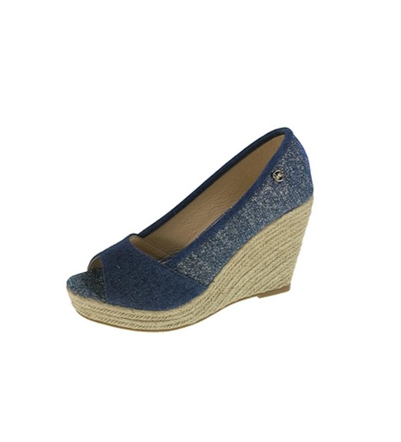 Comprar Beppi Casual wedge sandal Navy