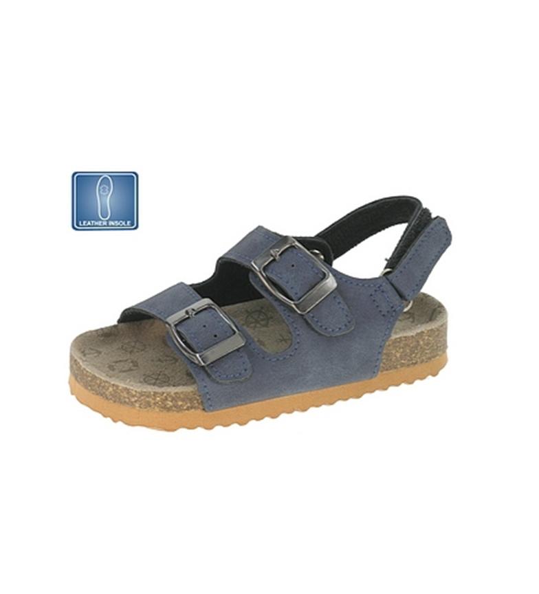 Beppi - Sandalia de piel Azul marino ll59HeZonq