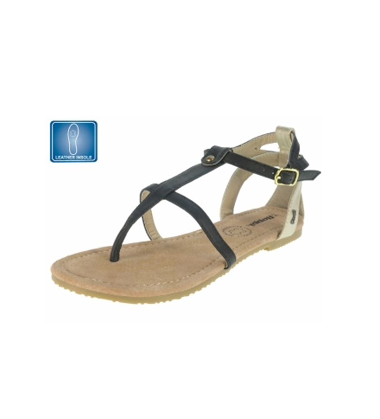 Beppi casuales Sandalias casuales casuales Beppi Beppi Sandalias casuales Negro Beppi Sandalias Negro Sandalias Negro vR6Rw
