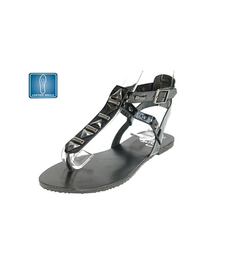 Sandalias Beppi Sandalias Negro Sandalias Negro Beppi Beppi casuales casuales wOARqCx