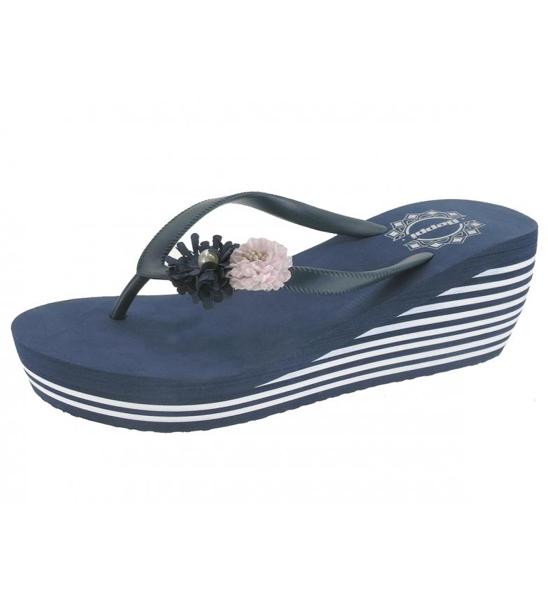 Comprar Beppi Baskets Marine Moon Slippers - Hauteur du coin : 7cm
