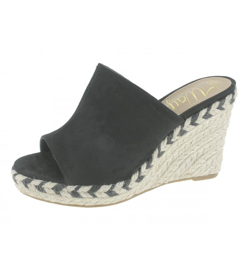 Comprar Beppi Sandálias Zue preto - Altura da cunha: 9,5cm