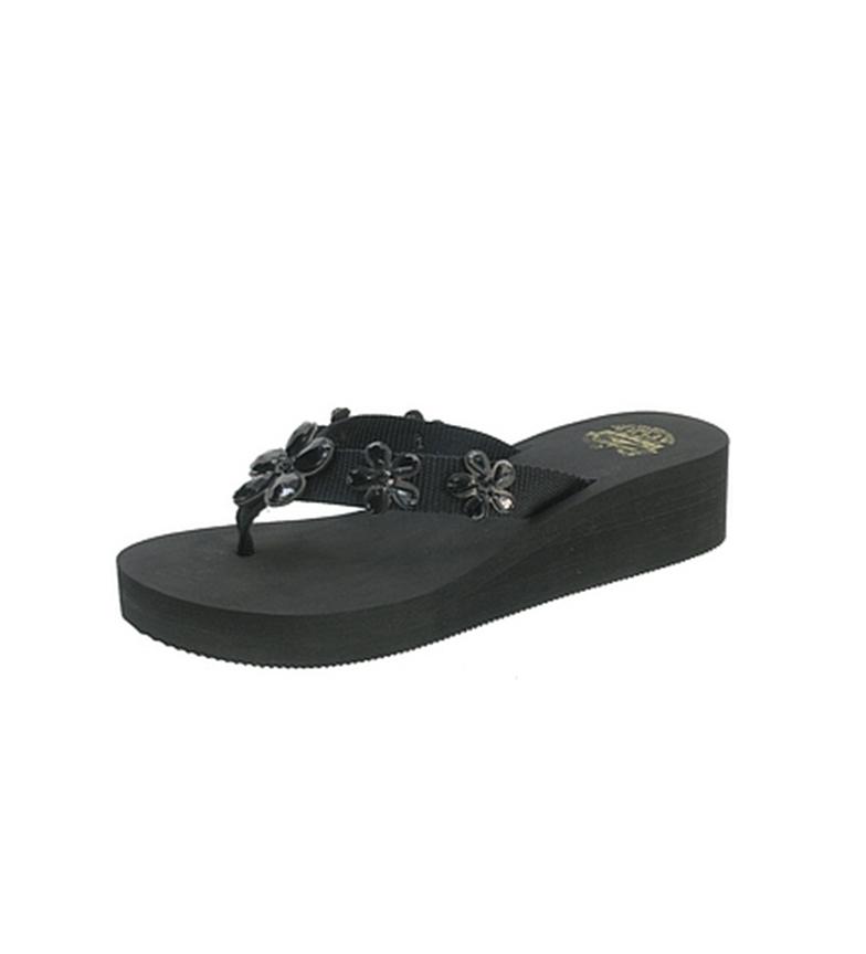 Beppi - Zapatilla de cuña Negro JLihrH6acS