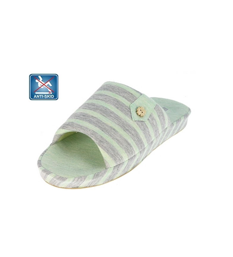 Beppi claro Zapatilla Verde de interior xw4fqB1