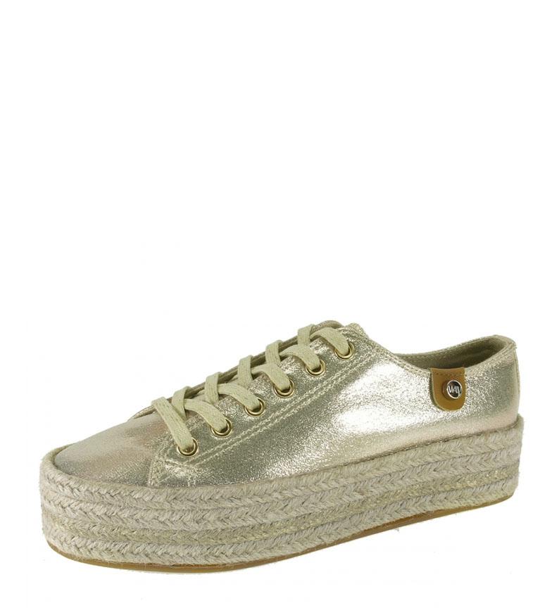 Comprar Beppi Bamb gold shoes - Platform height: 3,5cm
