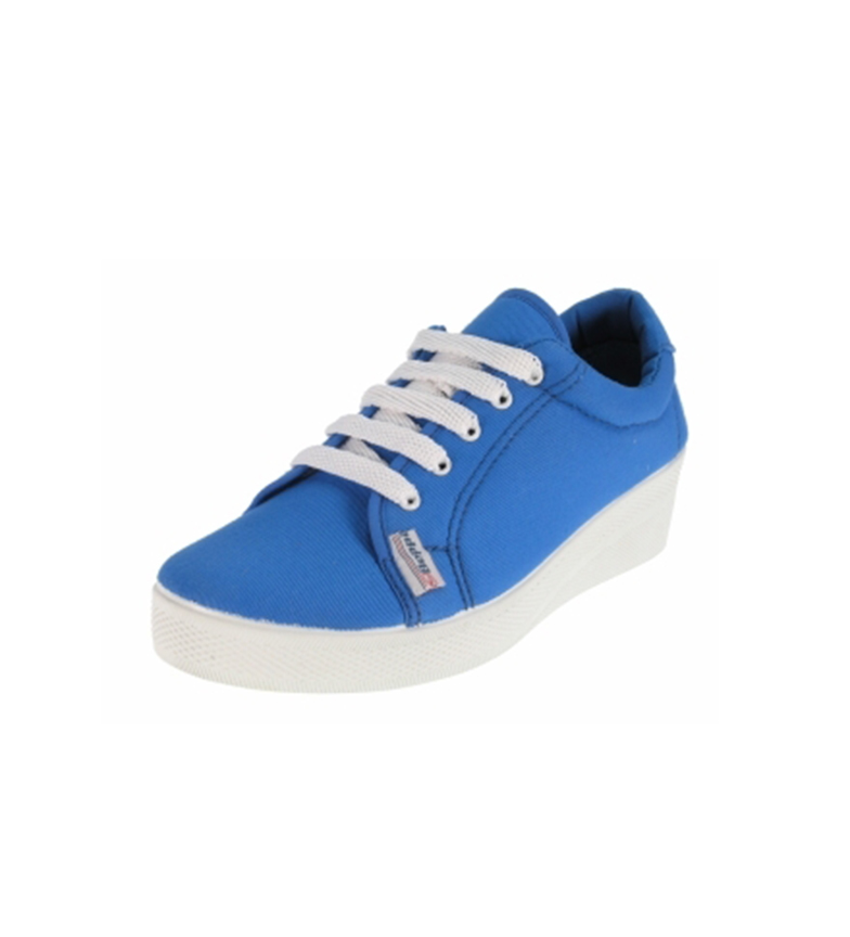 Beppi Zapato de lona Azul