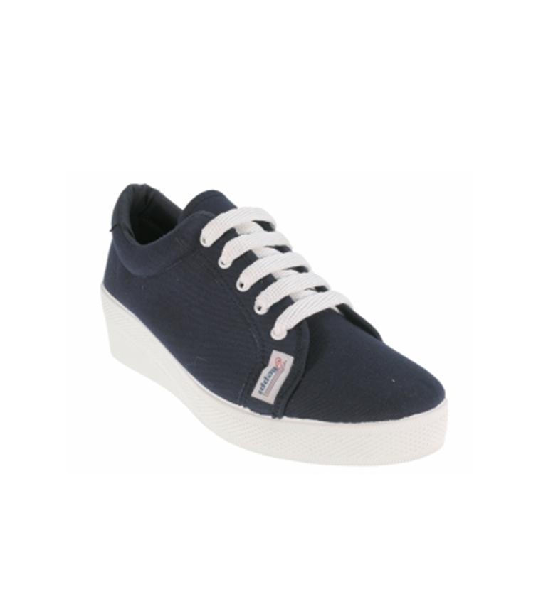 Azul marino de lona Zapato Beppi UwZtq1xvxW