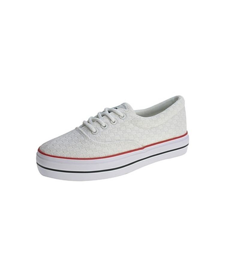 Beppi Zapato de lona Blanco