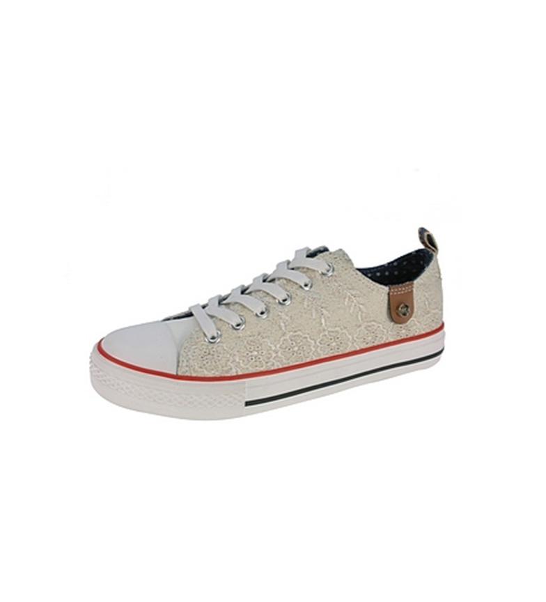Beppi Beppi Blanco Zapato lona de de lona Zapato wqtFUEOg
