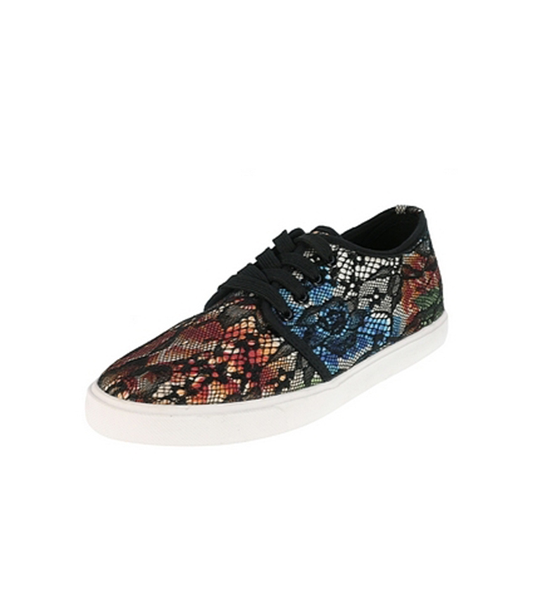 Beppi de Beppi Zapato lona Negro Zapato de R1q5wSS