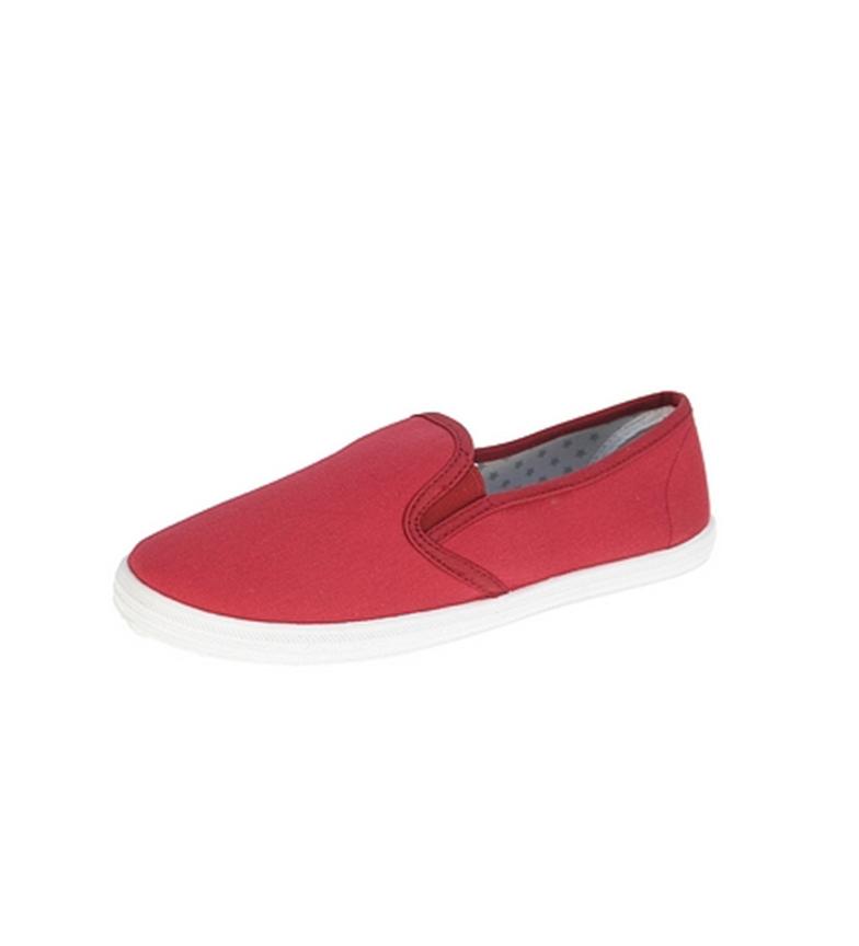 Beppi lona Zapato de lona Beppi Zapato Zapato lona rojo rojo Beppi de de xqqSP06Brw