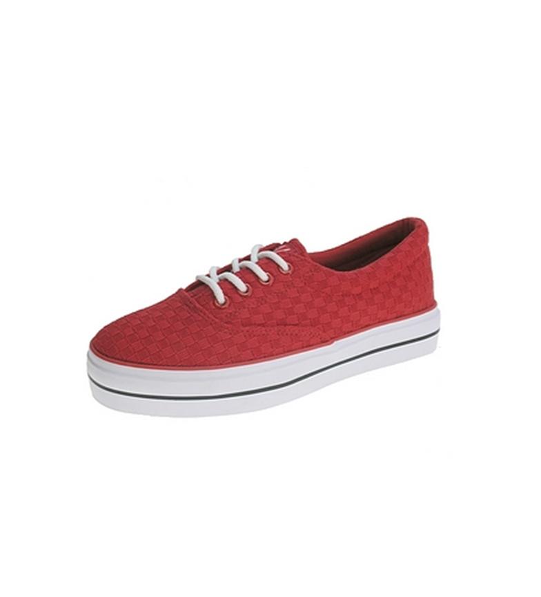 Zapato rojo lona rojo de Zapato de lona de Beppi Beppi Beppi Zapato tpw71Sq