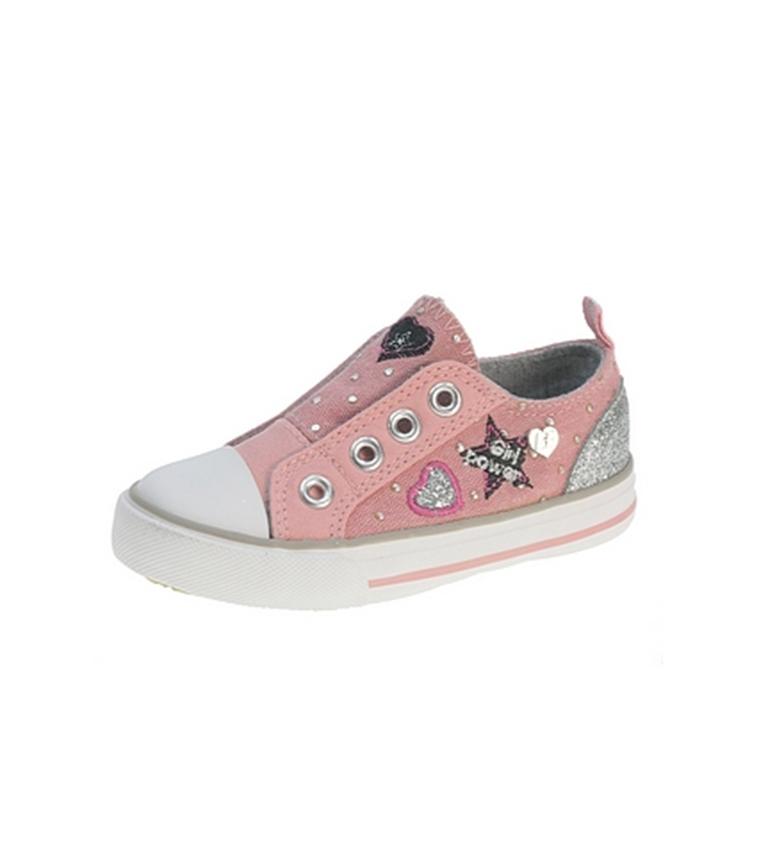 Beppi - Zapato de lona Rosado K3edLzw