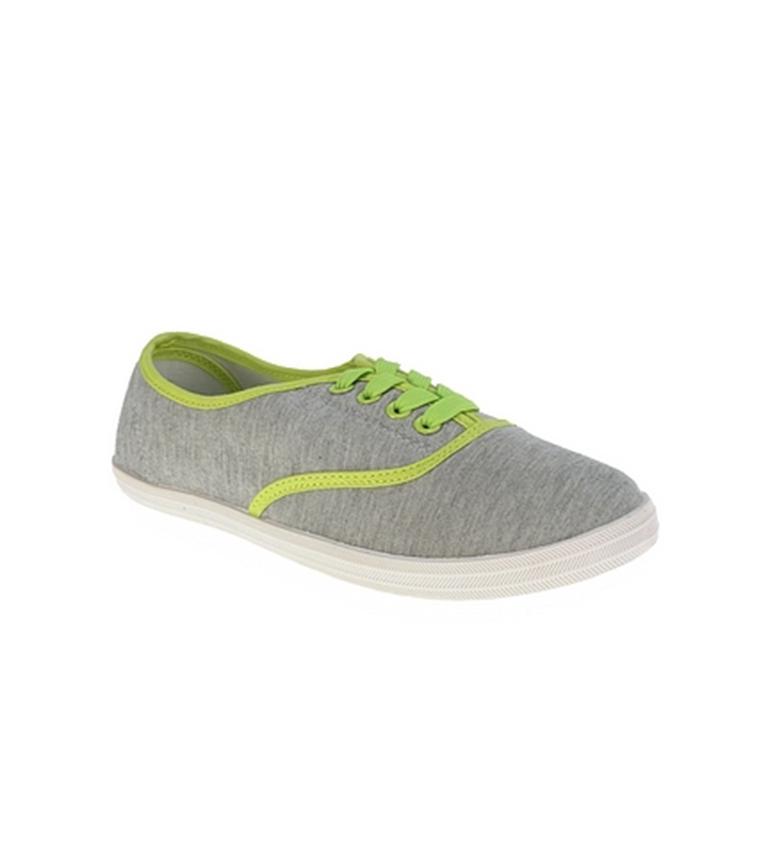 Zapato Zapato lona Beppi Verde lona neón de Beppi de UTwqI