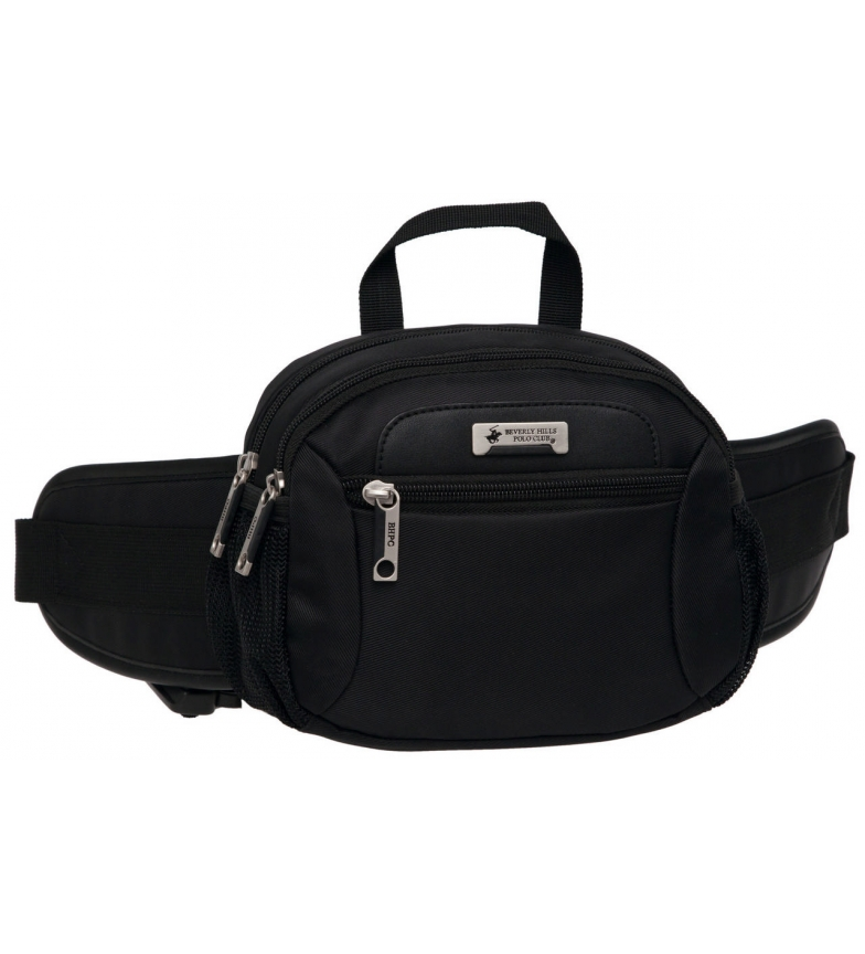 Comprar Beverly Hills Polo Club Beverly Hills Fanny Pack Polo Club Black Double Compartment