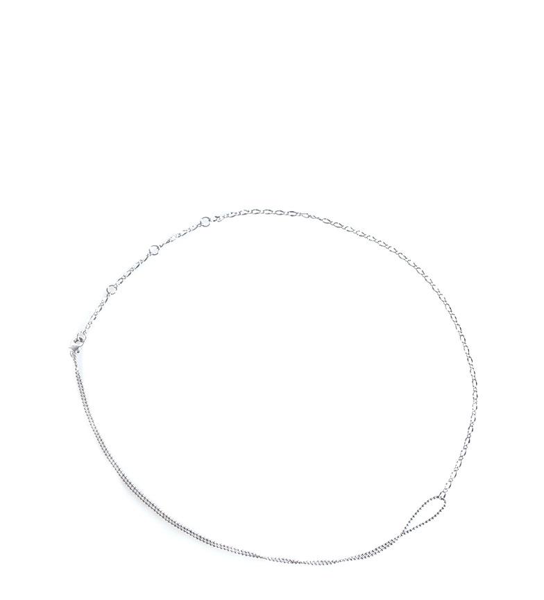 Comprar Bilyfer Colar D0177 prata -20,5cm-
