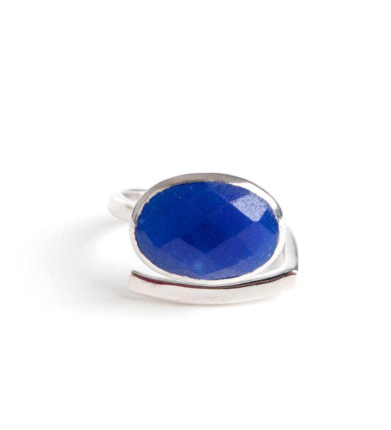 Comprar Bilyfer Bague D0151 argent, bleu