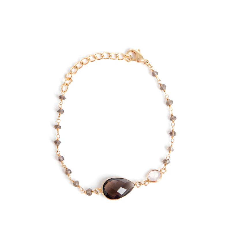 Comprar Bilyfer Bracelet Golden Routil gris