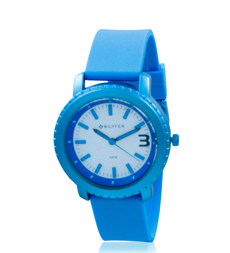 Comprar Bilyfer 1F584 orologio analogico blu