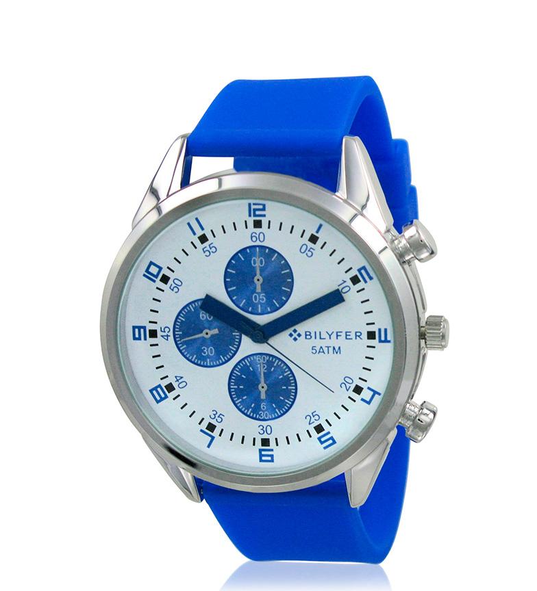 Comprar Bilyfer 2W431 relógio analógico azul, o branco