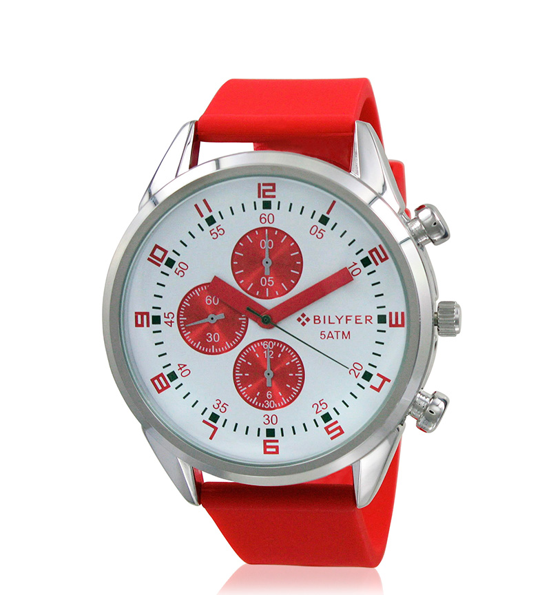 Comprar Bilyfer 2W431 orologio analogico rosso