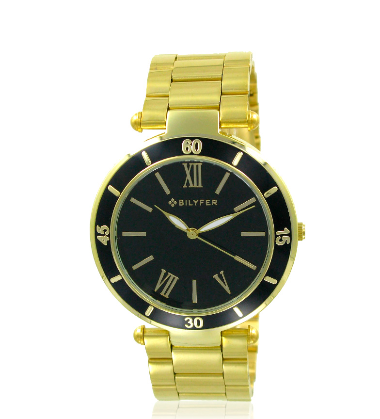 Comprar Bilyfer Golden 3P480 analog watch