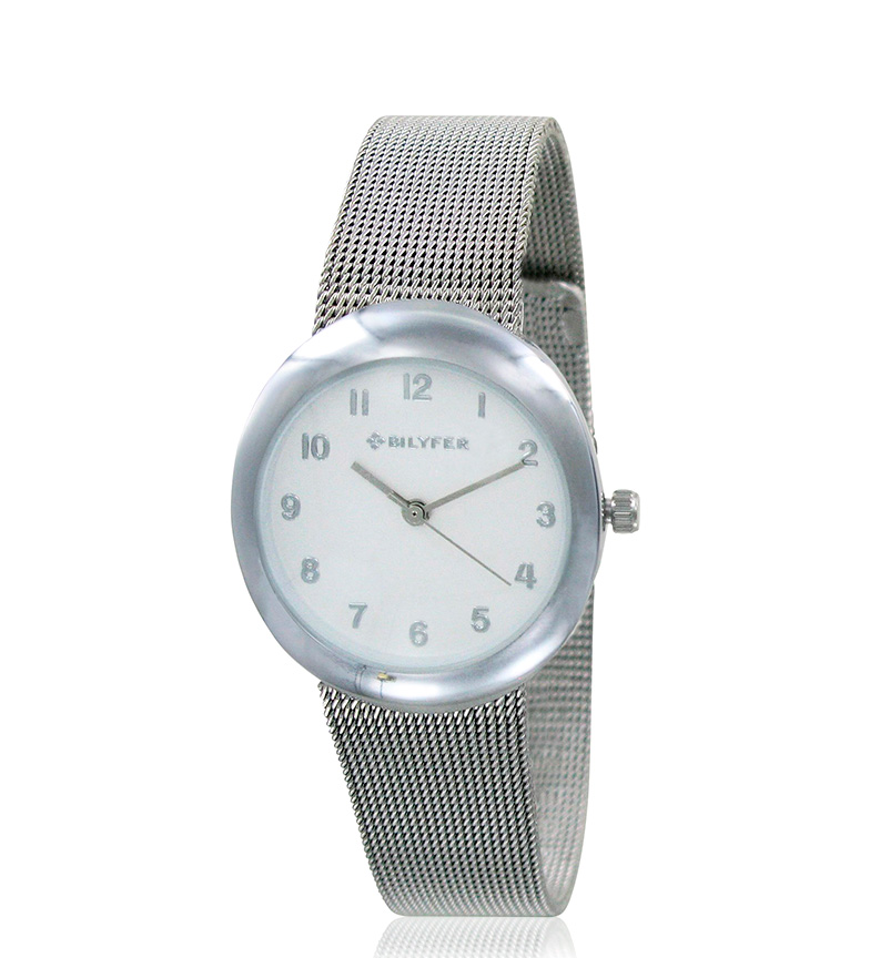 Comprar Bilyfer Argent d'horloge analogique 3P535