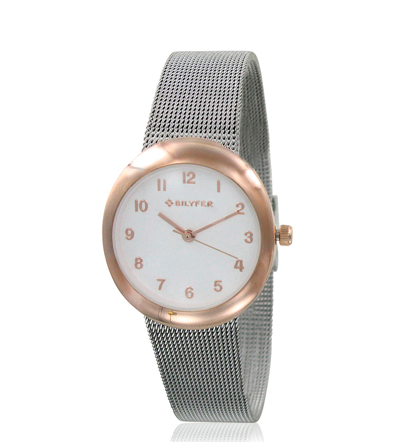 Comprar Bilyfer Analog watch 3P535 silver, gold