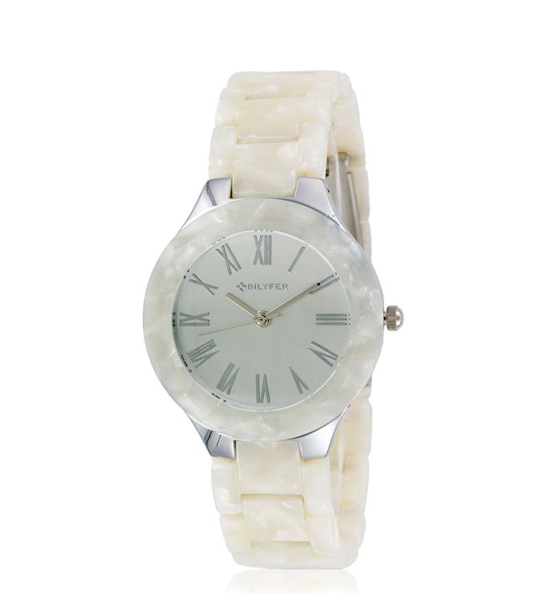 Comprar Bilyfer Reloj analógico 3P536 blanco, plateado