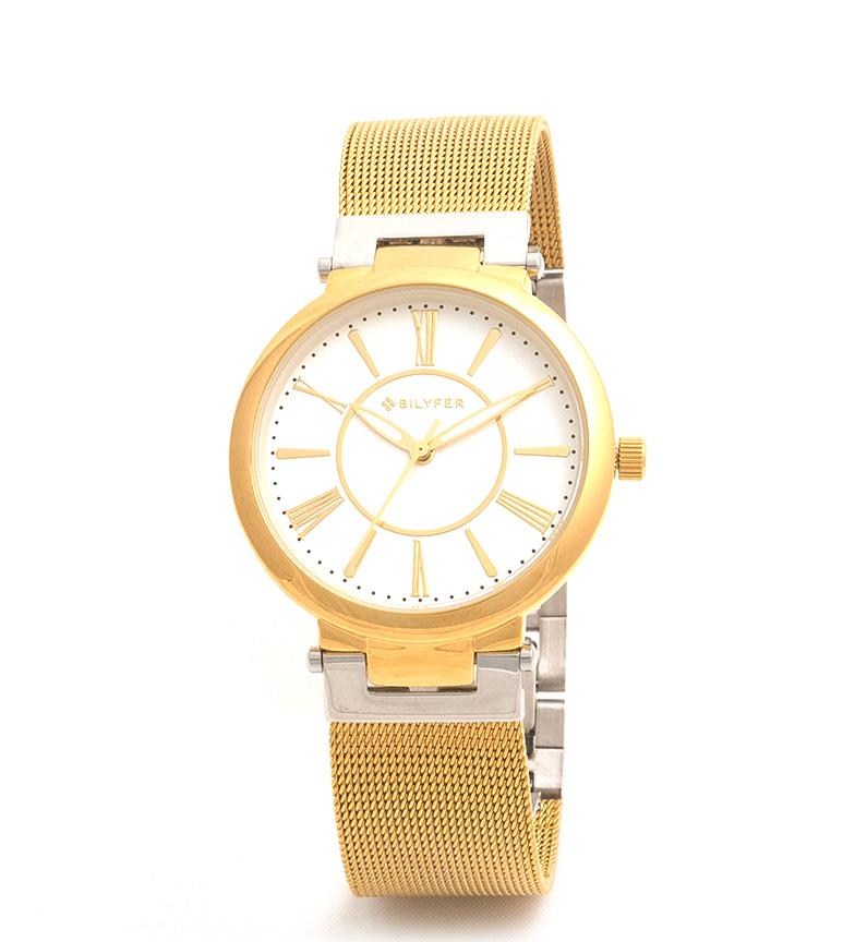 Comprar Bilyfer 3P537 orologio analogico d'oro