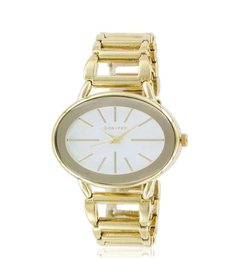 Comprar Bilyfer 3P543 orologio analogico d'oro