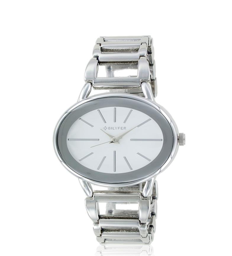 Comprar Bilyfer 3P543 argento orologio analogico