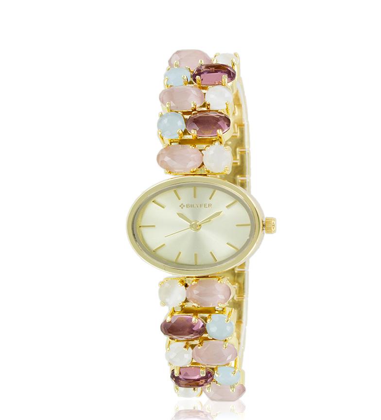 Comprar Bilyfer Reloj analógico 3P549 dorado, rosa