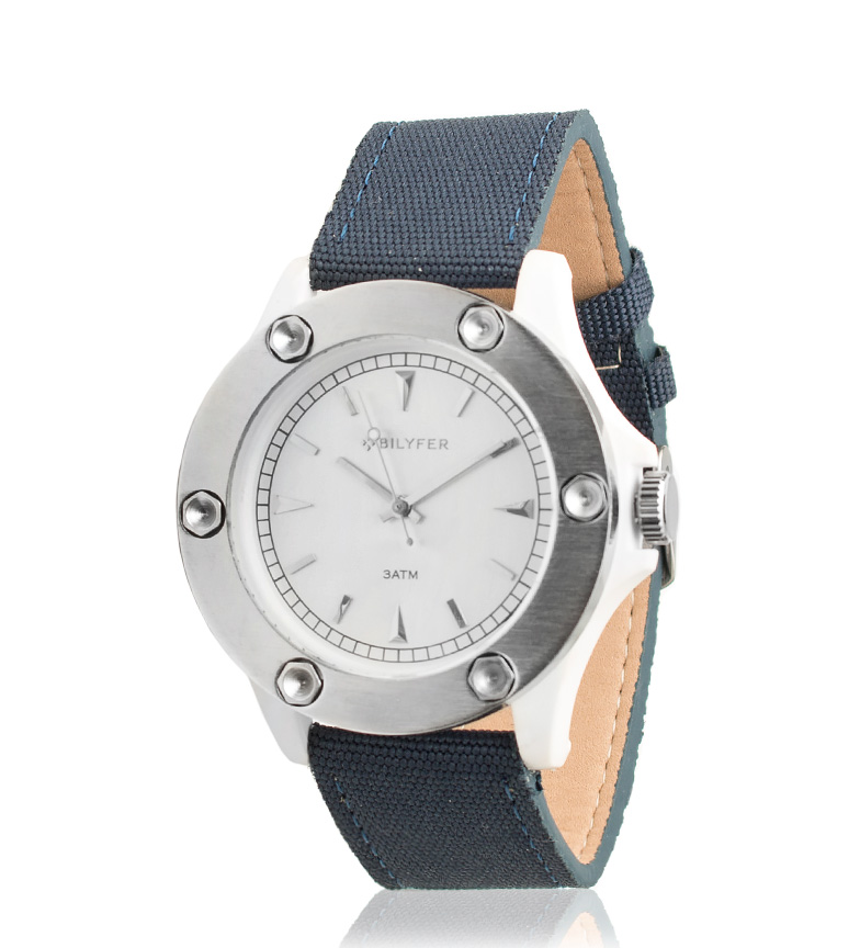 Comprar Bilyfer 4H279 relógio analógico azul