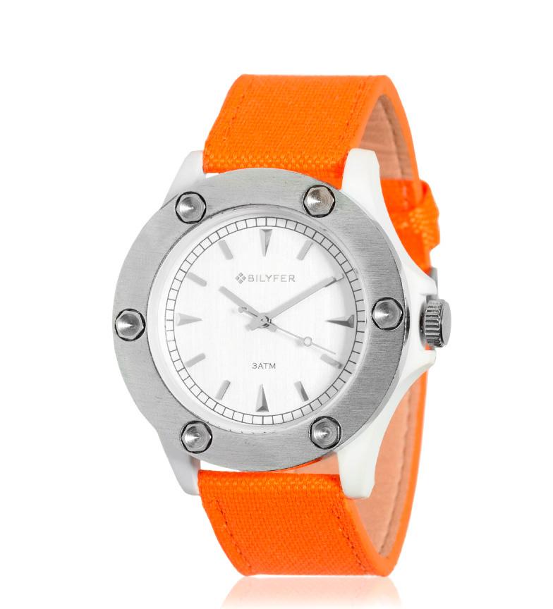 Comprar Bilyfer Relógio analógico laranja 4H279