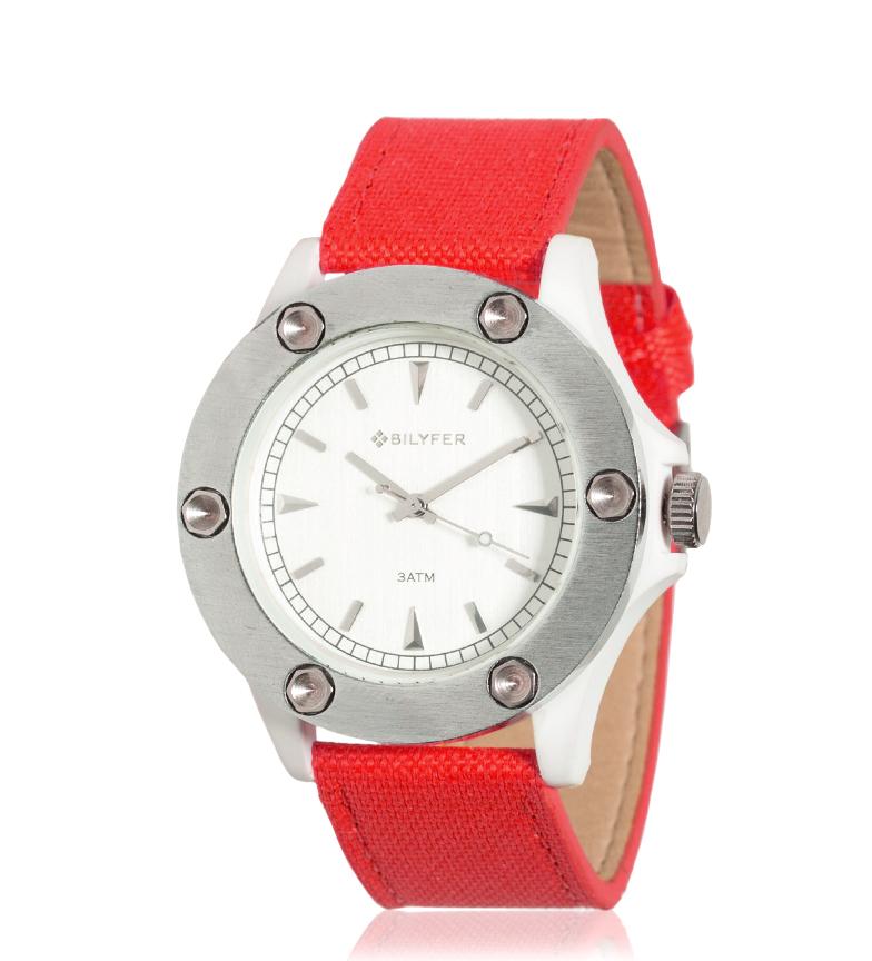 Comprar Bilyfer 4H279 relógio analógico vermelho