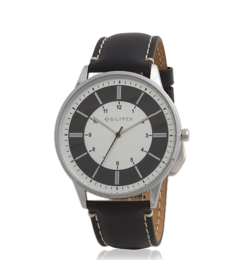 Comprar Bilyfer Relógio analógico castanho escuro 2W436 couro