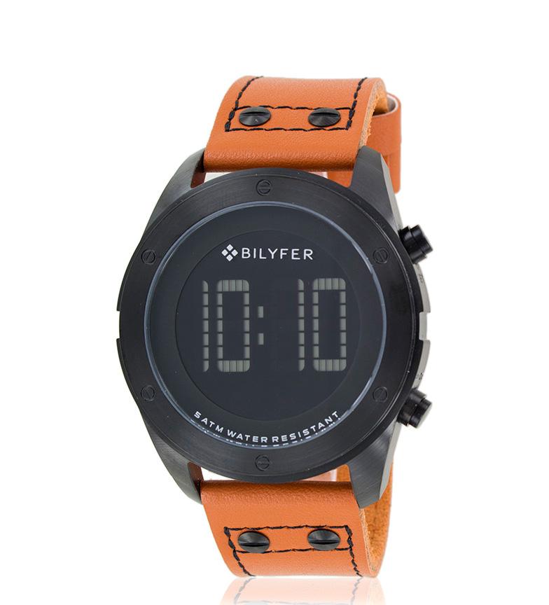 Comprar Bilyfer Laranja da pele relógio analógico 2W442