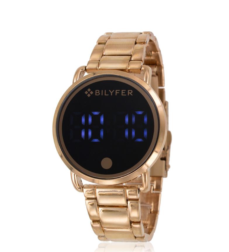 Comprar Bilyfer 3P551 horloge numérique en or rose