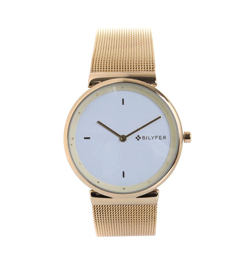 Comprar Bilyfer Relógio de Malha Integrada Gold
